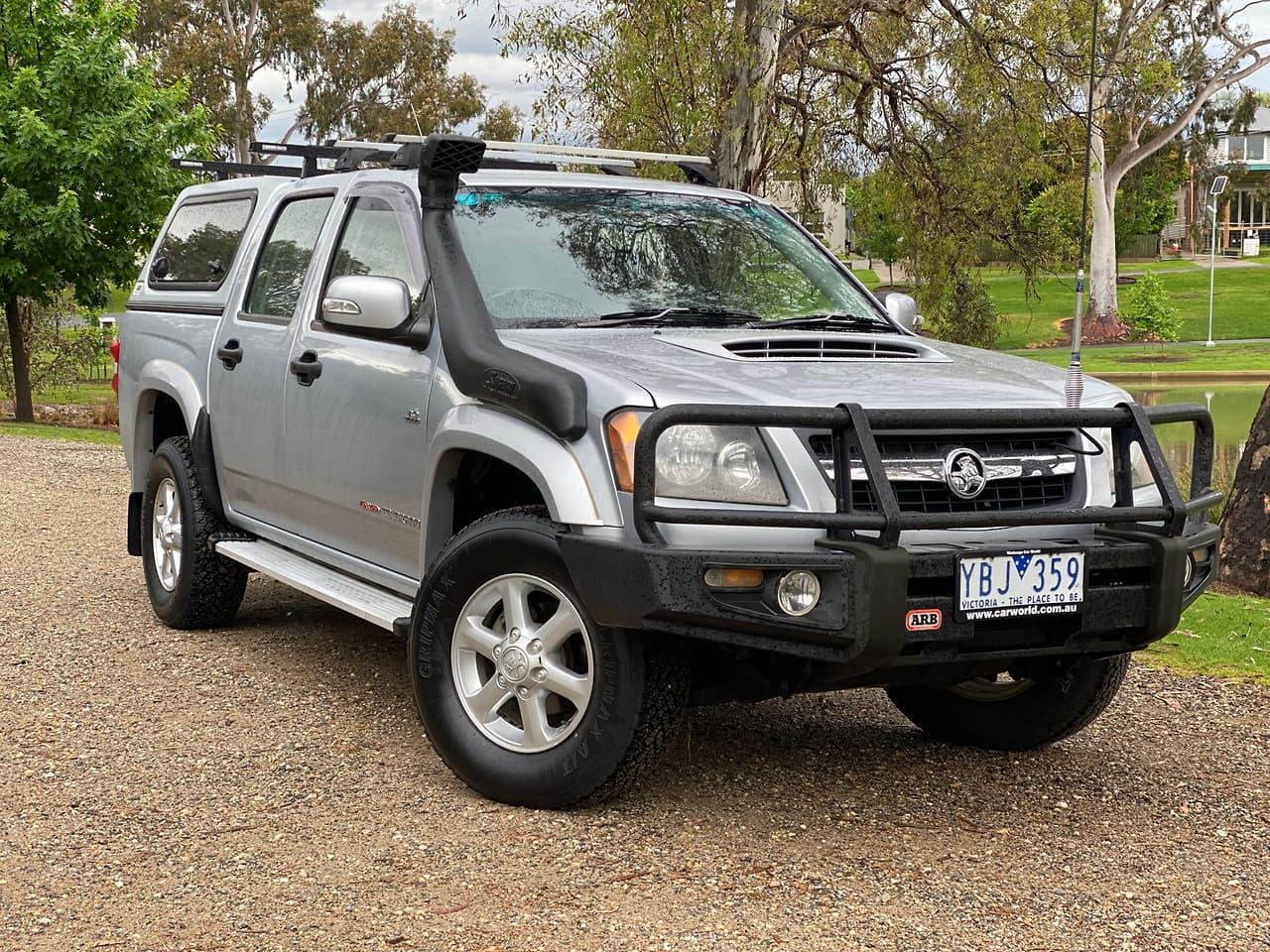 2010 Holden COLORADO RC LX